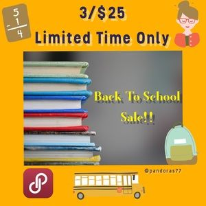 Other - ✨BACK TO SCHOOL SALE!!✨CHOOSE 3 ITEMS FOR $25!!